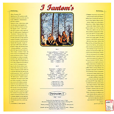 I Fantom's – Le Insegne Pubblicitarie (1966-69)
