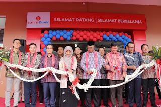 Peresmian Lotte Grosir, Sinyal Pulihnya Ekonomi di Mataram