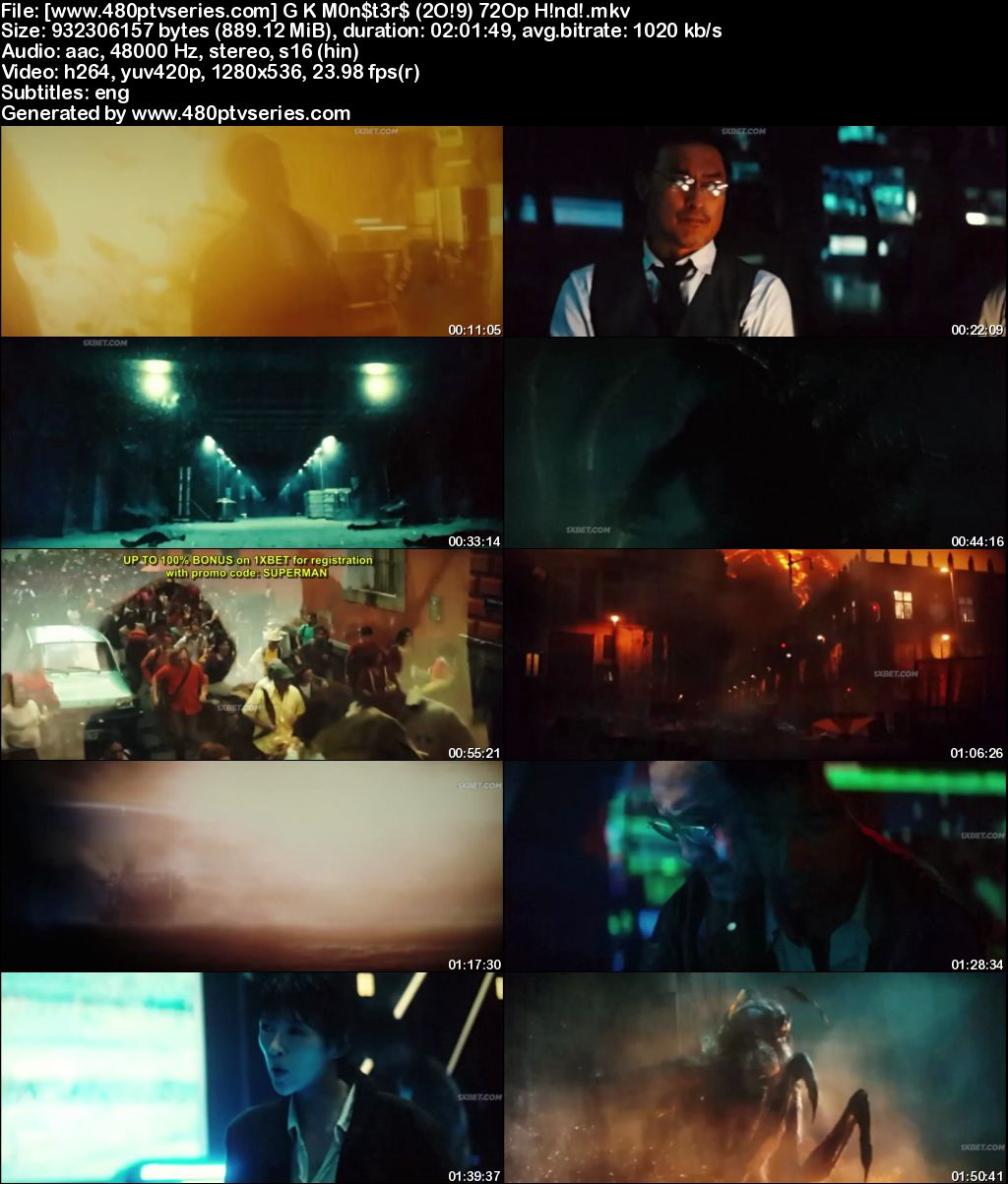 Godzilla: King of the Monsters (2019) Full Hindi Dual Audio Movie