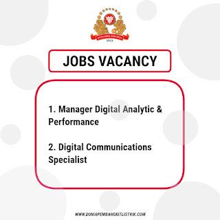 HM Sampoerna Jobs: Manager Digital Analytic & Performance | Digital Communications Specialist