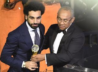 صور محمد صلاح افضل لاعب فى افريقيا 2017