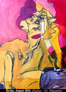 Contour, by Ciana Pullen  / St. Rhinocéros
