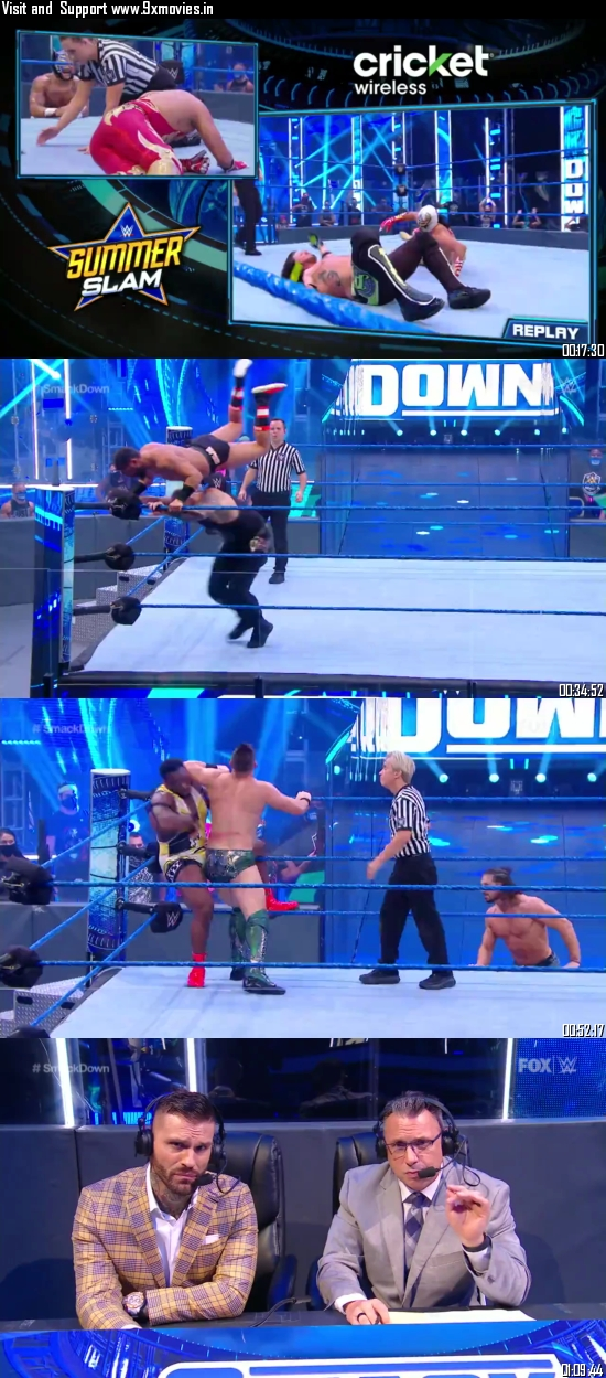 WWE Friday Night Smackdown 31 July 2020 HDTV 720p 480p 300MB