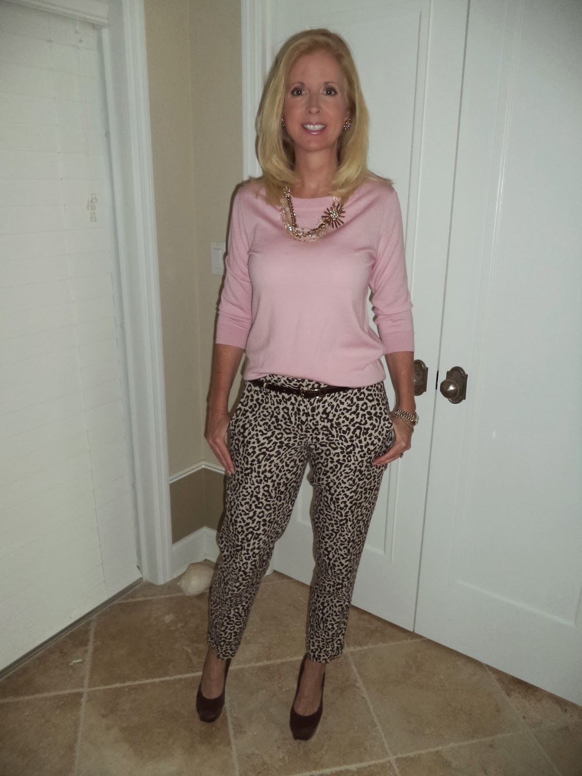 Blonda milf