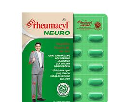 Ragam jenis produk Neo rheumacyl
