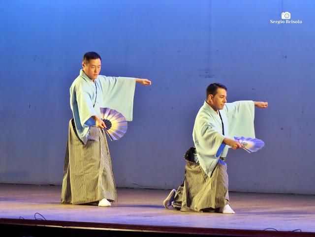 Vista de uma Apresentação de Dança na Sociedade Brasileira de Cultura Japonesa - Liberdade - São Paulo