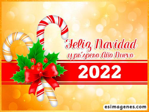 tarjeta de feliz navidad 2022