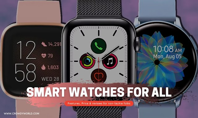 2021 New Smart Watches For Kids, Women And Men At Cheap Price