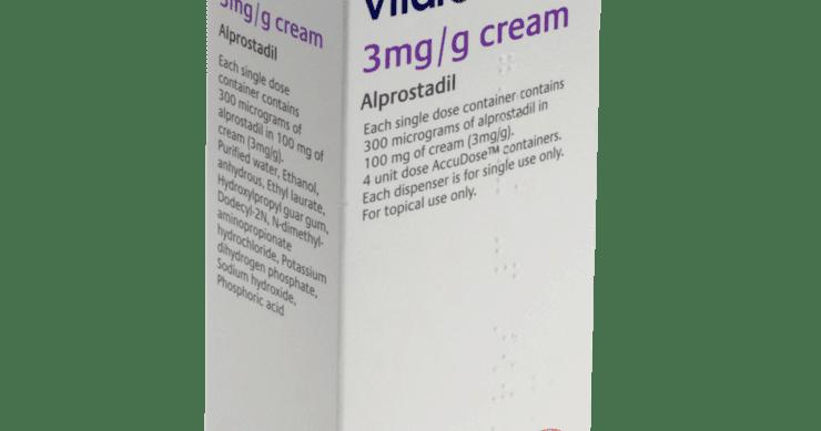 alprostadil crema