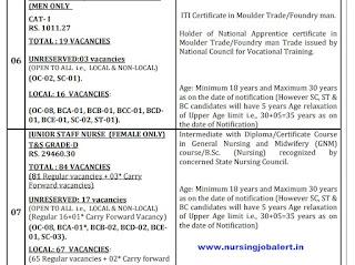 SCCL nursing Vacancy 2021