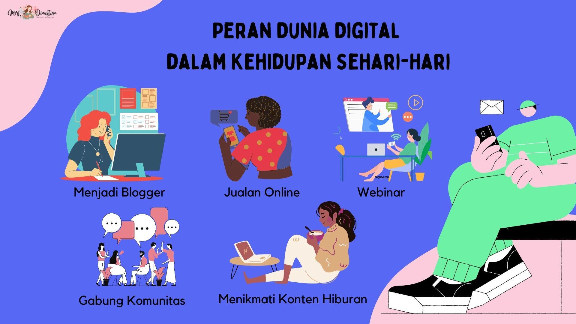 Peran Dunia Digital dalam Kehidupan Sehari-hari