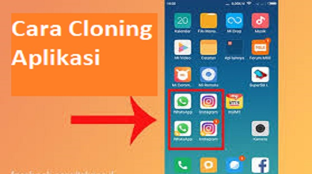 cara cloning aplikasi