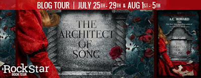 Blog Tour ~ Review: The Architect of Song by A.G. Howard + Giveaway (INT)