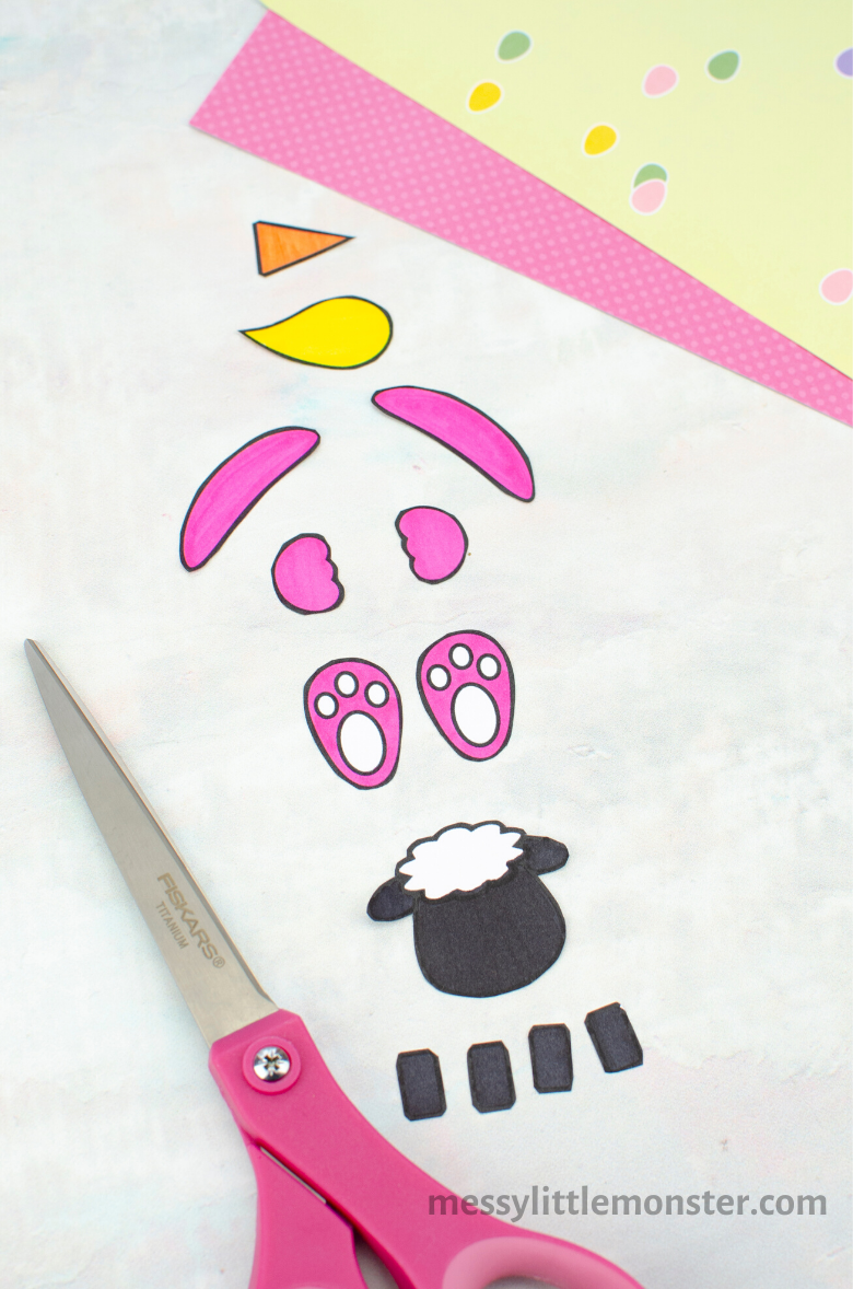 Easter craft template