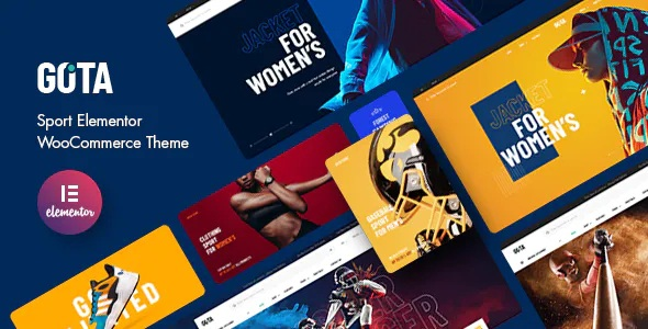 Best Sport Elementor WooCommerce Theme