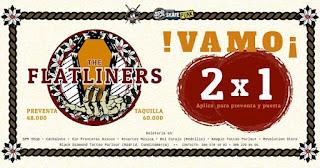 Concierto de THE FLATLINERS en Bogotá
