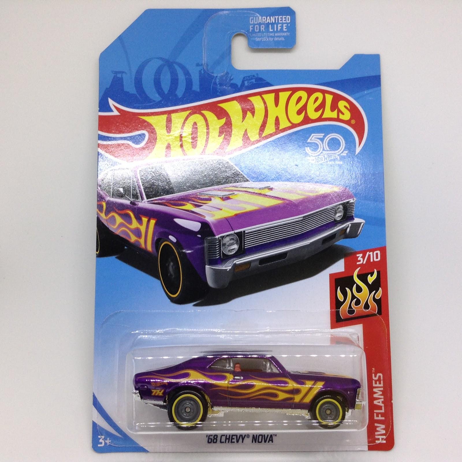 Hot Wheels Case J 2020 68 CHEVY NOVA