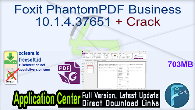 Foxit PhantomPDF Business 10.1.4.37651 + Crack_ ZcTeam.id
