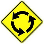 circular intersection in spanish