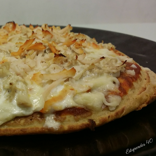 pizza-fit-de-pollo-con-salsa-barbacoa