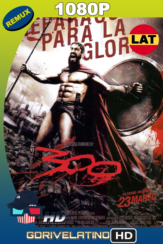 300 (2006) BDRemux 1080p Latino-Ingles MKV
