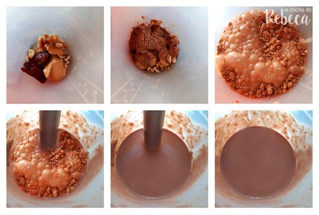 Receta de chocolate caliente saludable