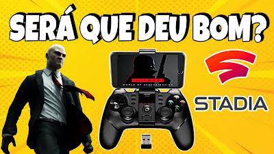 Stadia Gamepad