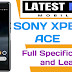 Sony Xperia Ace full specifications, Price and Launch Date in India