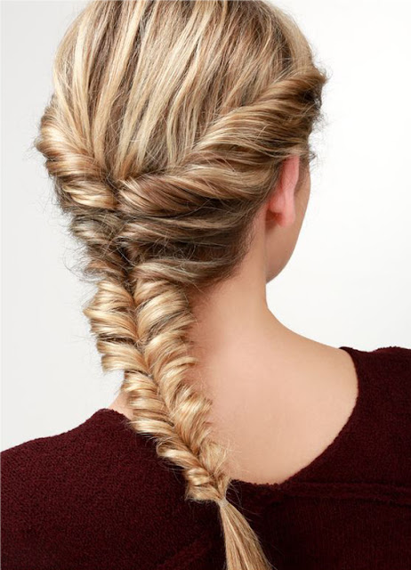 fishtail braid  I  Sexy, Fun & Flirty Summer Hairstyles