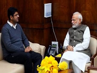 PM Meets Haryana Ally Dushyant Chautala Amid Undercurrents Over Farmers