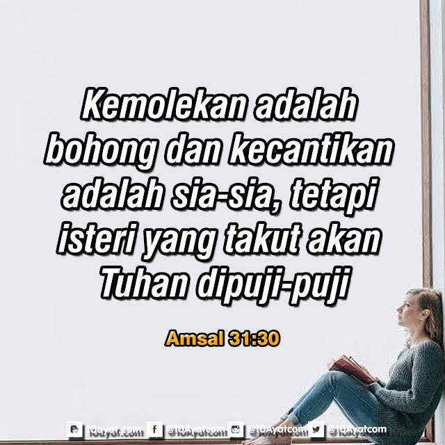 Amsal 31:30