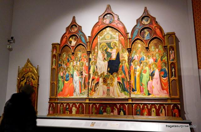 Altar do Século 15, na Galleria dell'Accademia, Florença