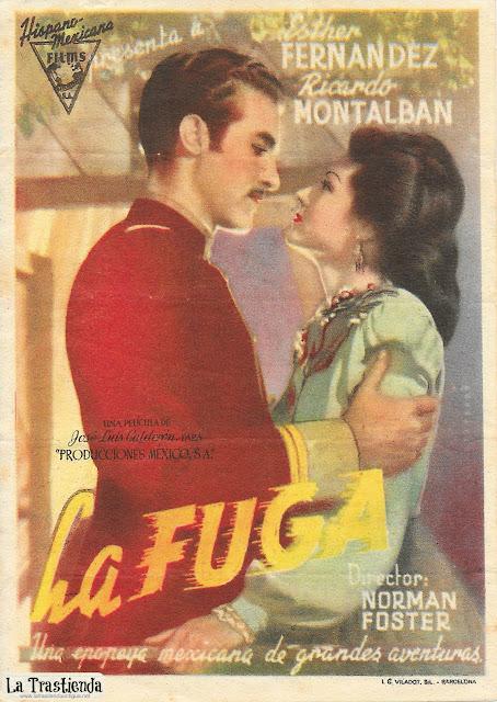 La Fuga - Programa de Cine (Vertical) - Ricardo Montalbán - Esther Fernandez