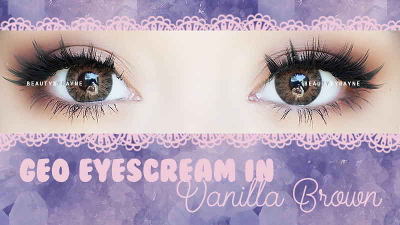 Geo EyesCream Vanilla Brown Review