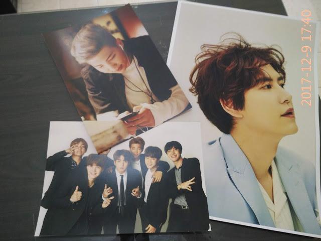 Poster Artis dan Boyband Korea