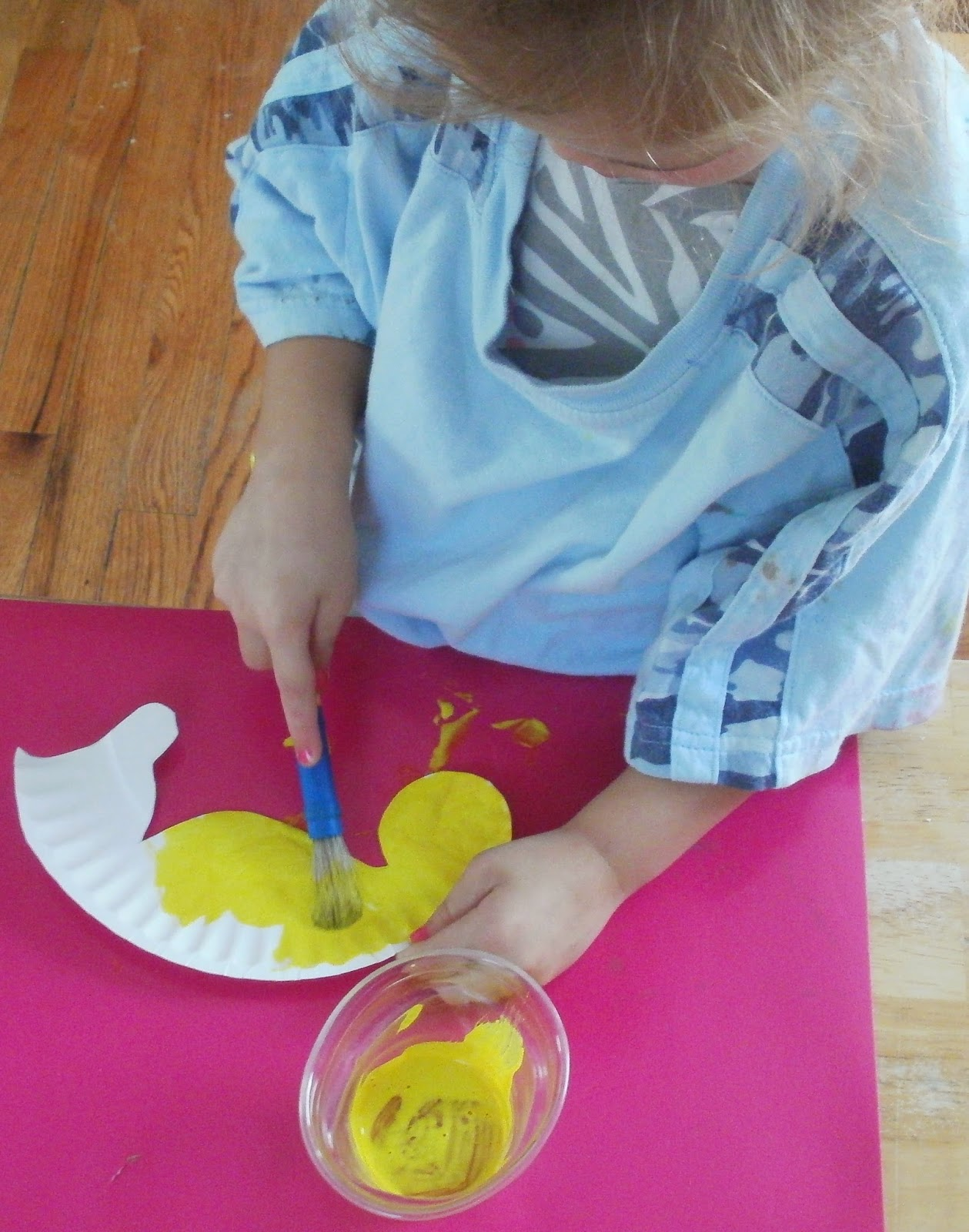 & Little Stars Learning: Seahorse Paper Plate Craft w/template