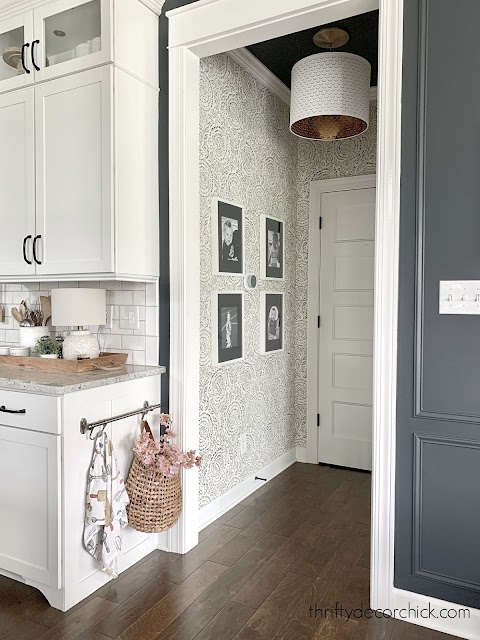 kamala baker indigo wallpaper
