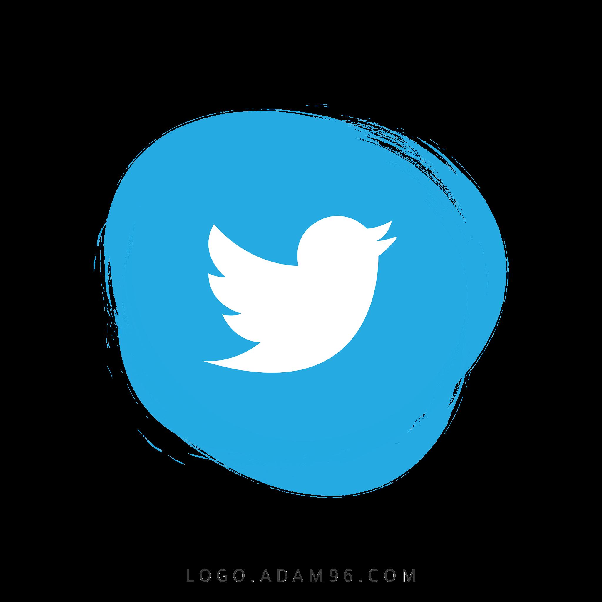 تحميل شعار تويتر شفاف Logo Twitter PNG
