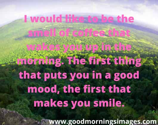 Good morning images with love sms