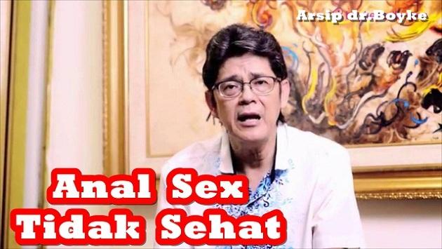 ANAL SEKS TAK SEHAT – Dokter Boyke Konsultasi Seks