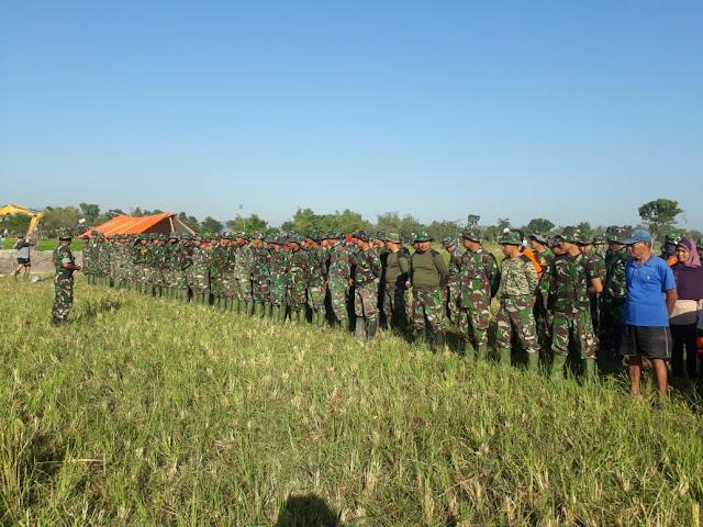Ratusan Prajurit Diterjunkan Di TMMD Reg 105 Kodim Klaten