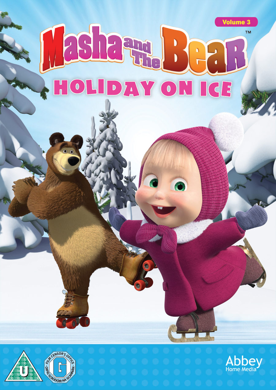 Masha and the Bear, Christmas DVD, DVD giveaway