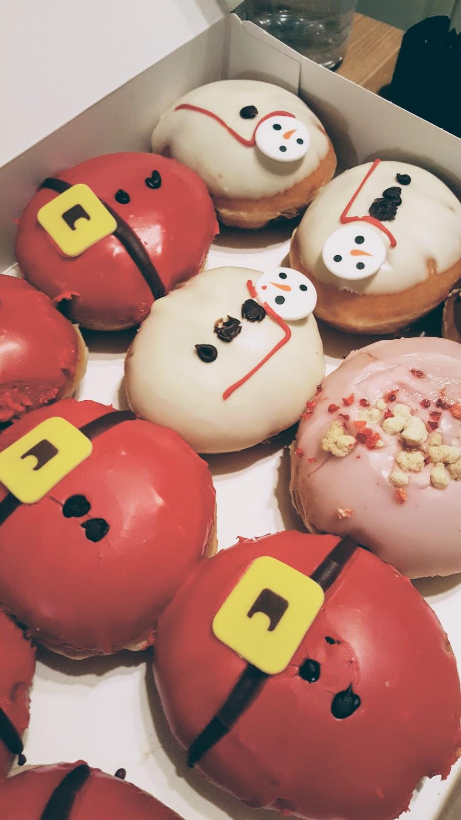Santa and snowman Donuts