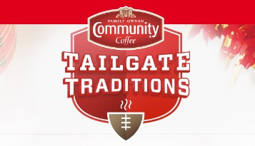 Community Coffee Tailgate Traditions IWG & Sweeps