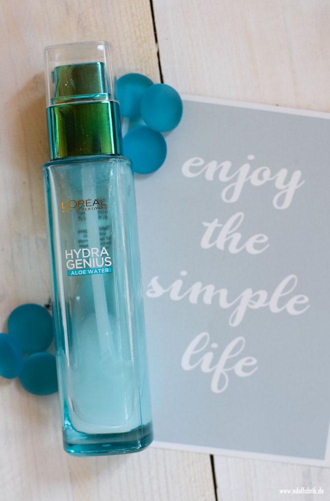 Wie gut ist das L'Oréal Hydra Genius Aloe Water