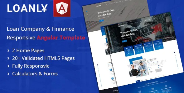 Banking Angular Template