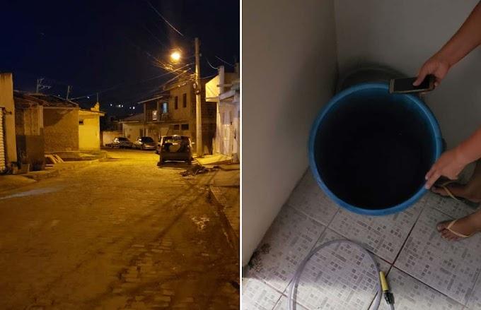 'Sem álcool na cidade e sem água em casa', diz indignada moradora de Jacobina