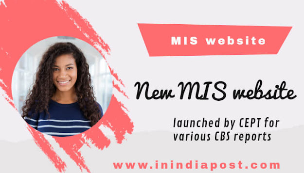 New MIS Website for various CBS reports
