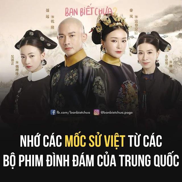 Các mốc lịch sử Việt qua phim tàu