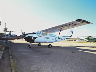 Avião apreendido será usado a partir de junho no Ceará